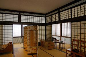 Klassisch japanischer Raumteiler